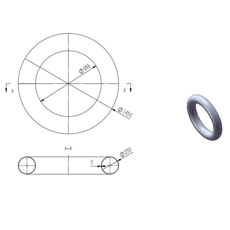 high voltage corona ring design-3