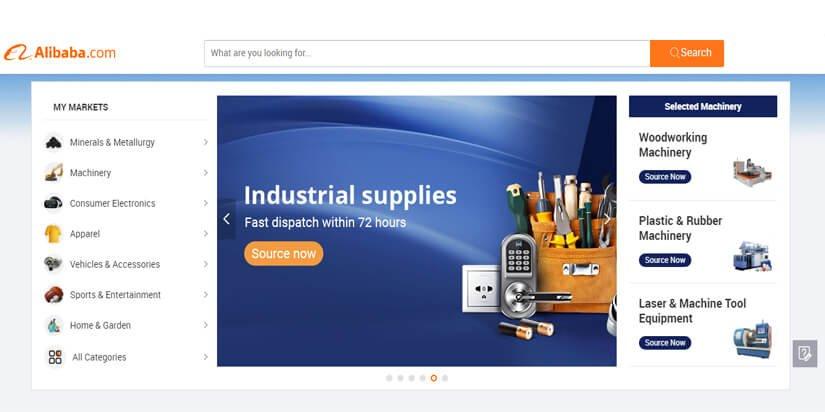 Alibaba B2B WEBSITE